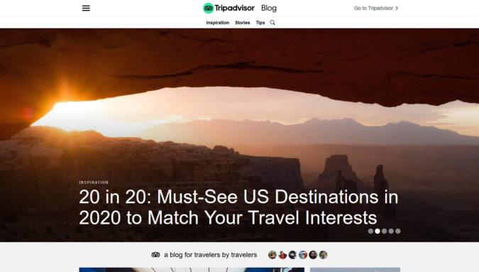Tripadviser blog