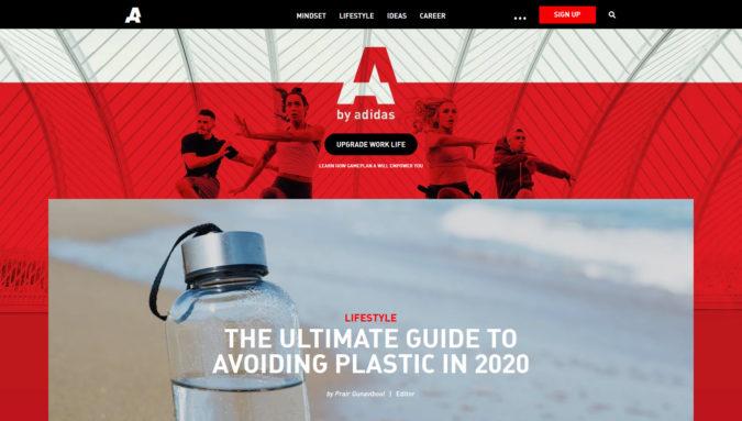 Adidas Gameplay Blog