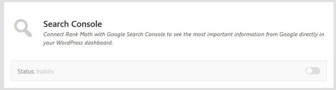 Google Search Console in WordPress einfügen
