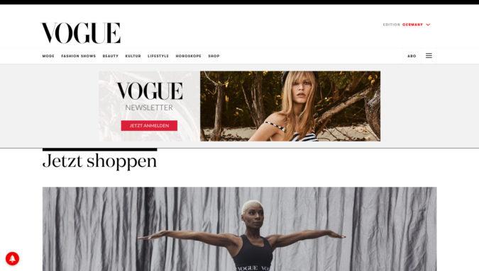 Vogue Fashion Magazin