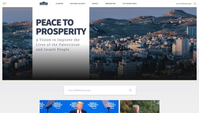 Weißes Haus - offizielle Webseite