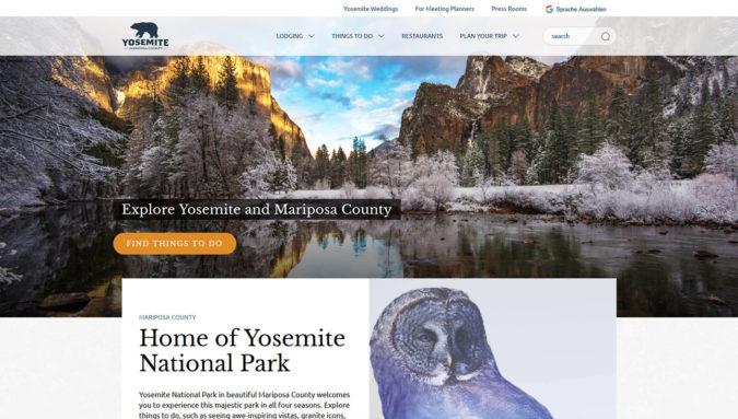Yosemite Mariposa County
