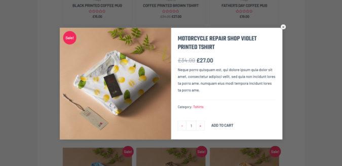 Woocommerce: Quick View Funktion von Astra Pro