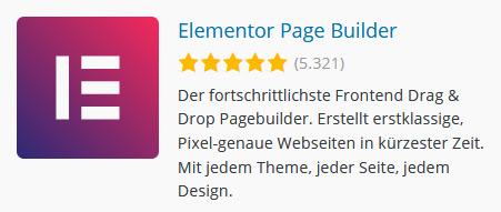 Elementor - WordPress Page Builder und Theme Builder