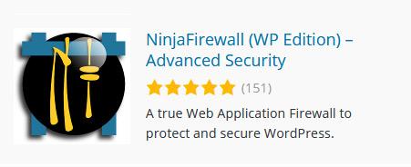 NinjaFirewall - WordPress Sicherheits-Plugin