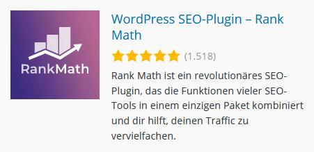 Rank Math - WordPress SEO Plugin
