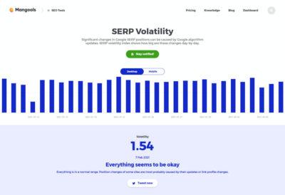 SERP Volatility Checker