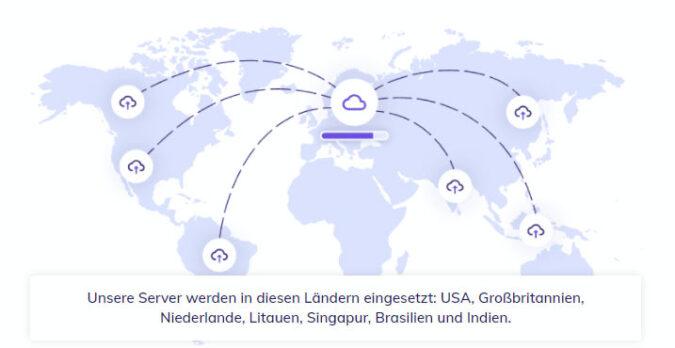 Weltweite Serverstandorte & Datenzentren von Hostinger